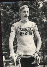 RONNY VAN DE VIJVER Cyclisme cp 70s IJSBOERKE BERTIN Cycling ciclismo wielrennen