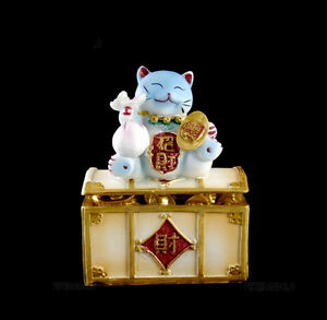 Hucha Gato Prosperidad Japonés Maneki Neko 126PB C