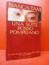 TAM : UNA SUITE ROSSO POMPEIANO - 1ªEd. 1991 MONDADORI