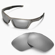 New Walleva Polarized Titanium Replacement Lenses For Oakley Jury Sunglasses
