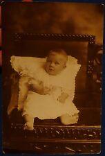 ANTIQUE PHOTO PHOTOGRAPH BEAUTIFUL BABY BOY CHILD CHILDREN INFANT
