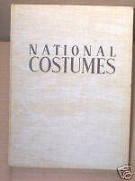 National Costumes Medvey Pochoir prints 1939 European