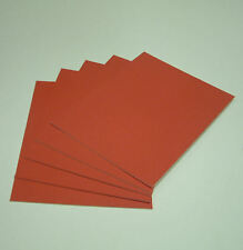 """RED WHITECORE MOUNT BOARD 32 x 24"""" pack of 10"""