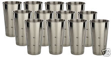 (12)30 oz.malt cup ice cream Milkshake- stainless steel