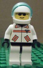 LEGO MINIFIGURE – TOWN RES-Q – RES-Q1 – WHITE HELMET, VISOR – NEW