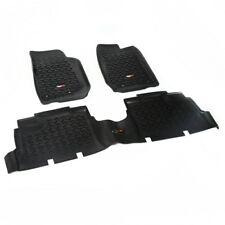 Fußmatten Fußschalen Set 3-teilig schwarz Jeep Wrangler JK 07-18 4Türer 12987.04