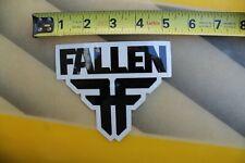 FALLEN Skateboard Shoes Zero Punk Rock Clear Z10 Vintage Skateboarding STICKER