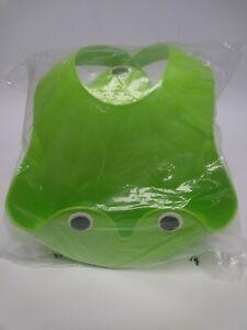 dise/ño de rana verde Juego de vajilla infantil IKEA 4 piezas, babero, taz/ón, cuchara y taza