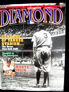 Babe Ruth Cover of MLB Chronicle The Diamond  September,1993