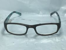 +2.00 Wink By ICU Eyewear Reading Glasses Blue/Brown Roses Free Shipping