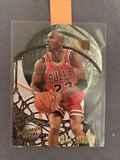 1995-96 Fleer Maximum Metal #4 Die Cut Michael Jordan. RARE Mint Ready to Grade