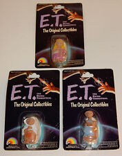 1982 E.T. 3 Different The Extra Terrestrial  Universal Movie LJN Toy Figures