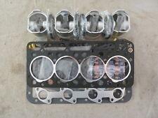 Kubota v1702 IDI Overhaul/Rebuild Kit 0.5 (Pistons Rings Bearings Gasket Set)
