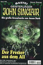 JOHN SINCLAIR ROMAN Nr. 1983 - Der Fresser aus dem All - Logan Dee NEU