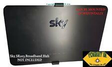 More details for wall bracket,wall mount w/fixings for sky broadband hub 2019 model sr203 / sr204