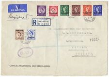 Tangier, O.A.T.Airmail cover to the Netherlands, 1950