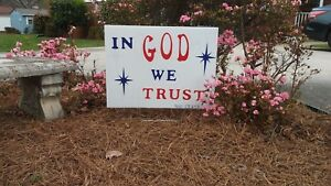 THANK YOU JESUS Christian Yard Signs