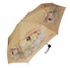 """Male Female Bathers W/ 8 Panel 46"""" Arc SPF/UV Fabric  Super Min Compact Umbrella"""