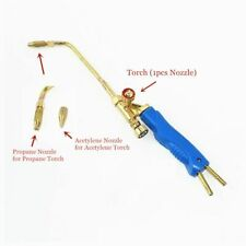 Mini Gas Brazing Torch Oxygen Propane Gas Natural Coal Gas For Weld Braze Solder