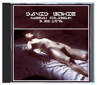 DAVID BOWIE as the Thin White Duke, LIVE in 1976, on CD
