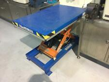 More details for elmo lift 1000kg scissor lift table - full working order -  240v uk