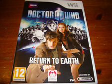 Doctor Who: Return to Earth (Nintendo Wii, 2010)