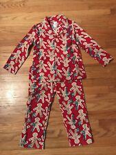 Gymboree Gingerbread Pajamas NWOT Small (5-6)