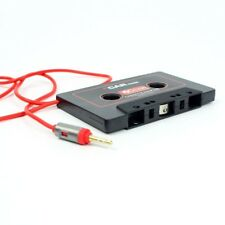 Car Audio Tape Cassette Adapter AUX Jack Cable For iPod FM MP3 Player D5C