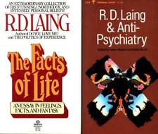 R.D. LAING 2 BOOKS ANTI-PSYCHIATRY & THE FACTS OF LIFE