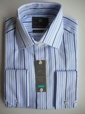 Marks and Spencer Double Cuff Machine Washable Formal Shirts for Men