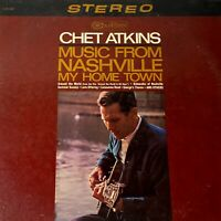 Chet Atkins - Music From Nashville: RCA Camden 1966 Vinyl LP Album (Country)