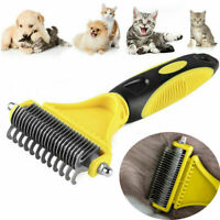 Pet Dog Cat Dematting Grooming Deshedding Trimmer Tools Hair Rakes Comb Brush