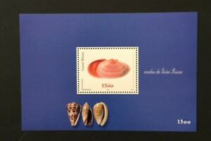 Guinea Bissau 2002 - Shells S/S MNH