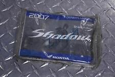 07 HONDA VT 750 C SHADOW OWNER'S MANUAL HANDBOOK VT750