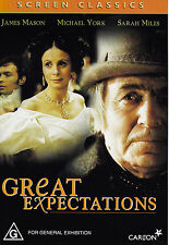 GREAT EXPECTATIONS James Mason DVD R4 - PAL - New