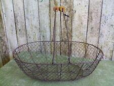 Kartoffelkorb 48 cm,Drahtkorb,MetallkorbShabby,Vintage,Erntekorb,Obstkorb