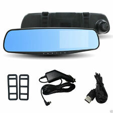 1080P HD Rear View Mirror Car DVR Dash Camera Cam Recorder G-Sensor Night Vision