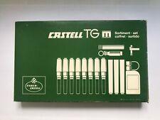VINTAGE FABER CASTELL SET S1188N: DRAFTING PENS IN BOX - GERMANY - UNUSED - NOS