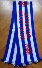 Espanyol Barcelona retro scarf schal sciarpa bufanda echarpe sjaal ultras sur