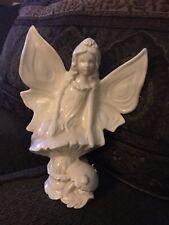 Beautiful Ceramic White Fairy Figurine