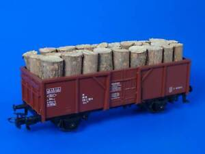 MARKLIN H0 - 4430 - Open Goods Wagon + Load of wood / (07)