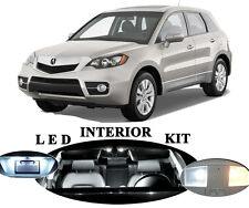 LED Package - Interior + License Plate + Vanity + Reverse for Acura RDX 16Pcs