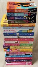 Lot 21 MEG CABOT Books Princess Diaries QUEEN BABBLE Heather Wells MEDIATOR Boy