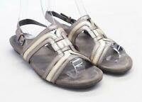 Footglove Womens UK Size 6 Brown Leather Sandals