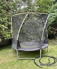 Plum 8ft trampoline with safety net.