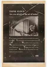 Art Of Noise Who's Afraid of the Art of Noise? Advert NME Cutting 1984