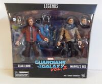 Marvel Legends GOTG Guardians of the Galaxy Vol 2 Star-lord & Ego! 2 Pack