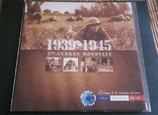 Livret collector timbres Mémoires de guerre 1939-1945 (5 timbres) sous blister