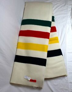 """Brand New! Pendleton Glacier National Park Queen Size Blanket 90"""" x 90"""" USA Made"""