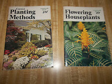 Flowering Houseplants & Correct Planting Methods – 1976 By Countryside Books